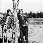Olavin veljestä Auliksesta  (vas.) tuli myöhemmin Olavin yhtiökumppani.