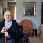 Antti Henttonen, 94, ihmettelee, eikö Tsernobyl opettanut ihmiskunnalle mitään.