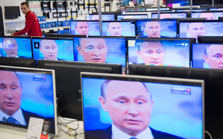Presidentti Vladimir Putin