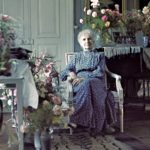Hanna vietti 80-vuotispäiväänsä Ångan kartanossa Ruotsissa.
