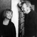 Ritva ja Kalle Holmberg kuvassa vuodelta 1976.