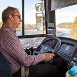 Oula Kotakorva on ajanut kirjastoautoa alusta lähtien. Pian tehtävä on jätettävä toiselle, sillä eläkepäivät lähenevät.