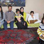 Ebdo Mihemedin alias Pensselisedän perhe-elämä Ruotsissa ei ole normaalia, mutta se on parempaa kuin Aleppossa.