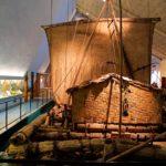 Kon-Tiki-aluksen mukaan nimensä saanut museo kertoo unohtumattomista löytöretkistä maailman merillä.