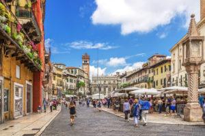 Italia Verona Piazza