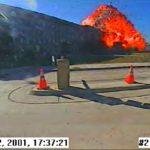 Helikopterikentän valvontakameran ottama kuva on ainoa, joka Pentagonin turmahetkestä on virallisesti julkaistu.