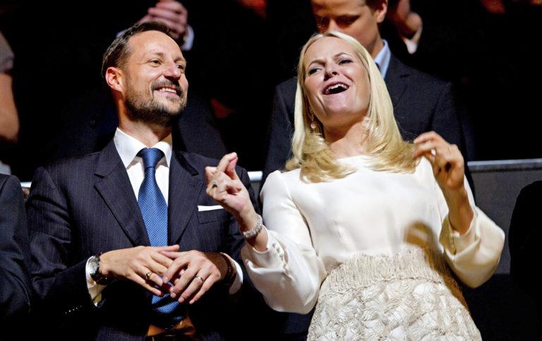 Kruununprinssi Haakon ja kruununprinsessa Mette-Marit.