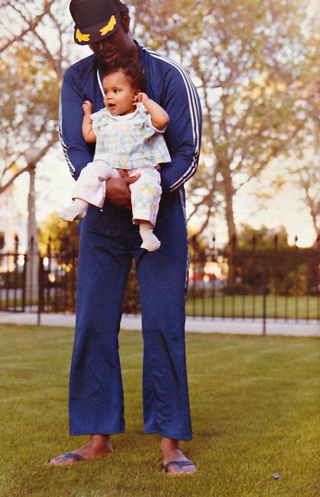 Michele ja isä.