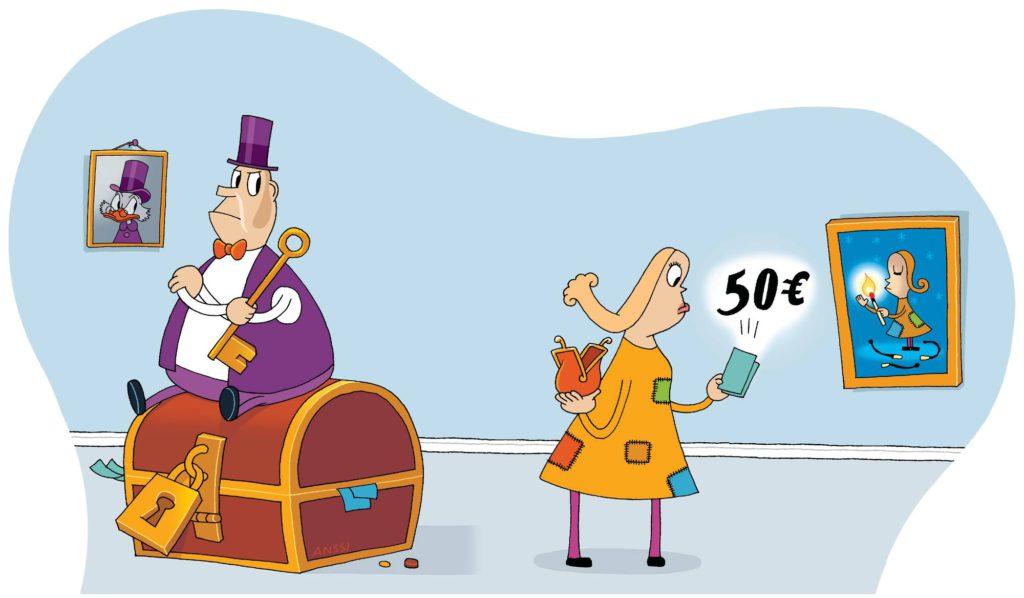 Mies vahtii ankarasti rahankäyttöä parisuhteessa.