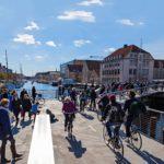 Hipsterien suosikkialueena tunnetun trendikkään Christianshavnin ykköskulkuväline on polkupyörä.
