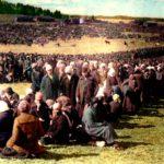 Yli 20000 punavankia sijoitettiin ensin Fellmanin kartanon pelloille Lahteen. Sieltä puolet heistä siirrettiin Hennalan vankileiriin, muut kuljetettiin eri leireihin, kuten Suomenlinnaan ja Hämeenlinnaan.
