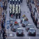 Mauno Koivisto hautajaiset ovat helatostaina. 7.9.1986 haudattiin presidentti Kekkonen.