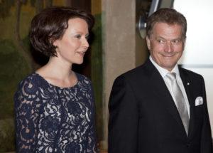 Rouva Jenni Haukio ja presidentti Sauli Niinistö