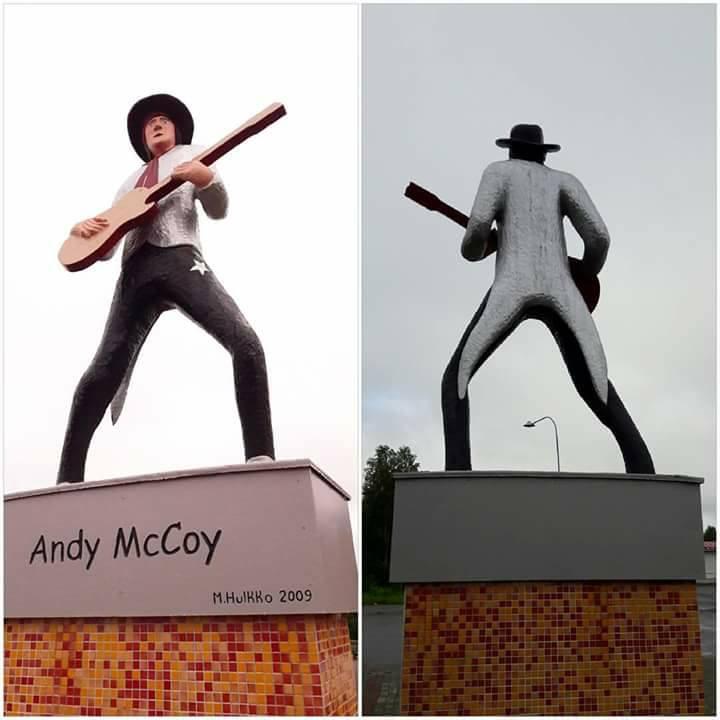 Andy McCoyn patsas Pelkosenniemellä