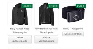 Pohjoismaisen Vastarintaliikkeen kannatustuotteena myytäviä takkeja markkinoidaan avoimesti Helly Hansenin tuotemerkillä - yhtiön mukaan ilman lupaa.