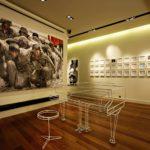 Marina Gisichin galleria on kaupungin kuuluisin nykytaiteen näyttämö.