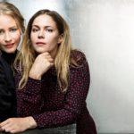 Malla ja Pihla ystävystyivät Veijarit-elokuvan kuvauksissa vuonna 2010. He ovat näytelleet yhdessä myös Mustat lesket -sarjassa.