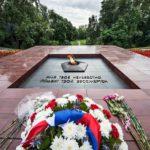 Leninin aukiolla lepattaa tuntemattoman sotilaan sammumaton tuli. ©JUHA METSO/OTAVAMEDIA