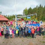 Kyläkoulu on yksi Vuolenkosken vetovoimatekijöistä. ©LAURI ROTKO/OTAVAMEDIA 