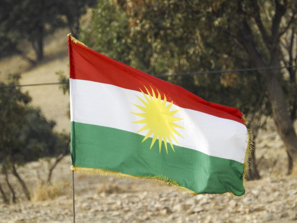 Kurdistanin lippu