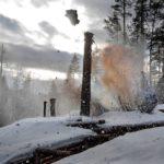 Tuntemattoman sotilaan viimeisenä filmauspäivänä tykistökeskitys osui suomalaisten asemiin.
