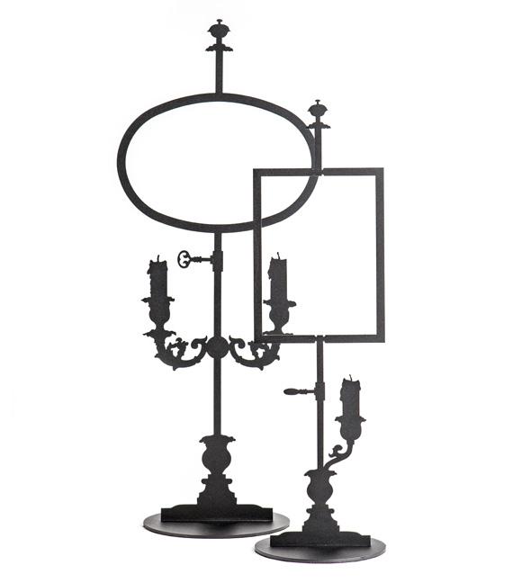 Metalliset koriste-esineet