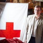 Kalle Löövi ei suunnittele vielä eläkkeelle jäämistä. Työ Punaisessa Ristissä on hänelle vahva kutsumus.