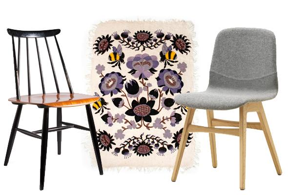 Tuolit ja matto