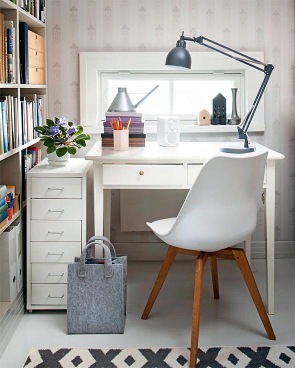 Uudista vanhan työpöydän ilme