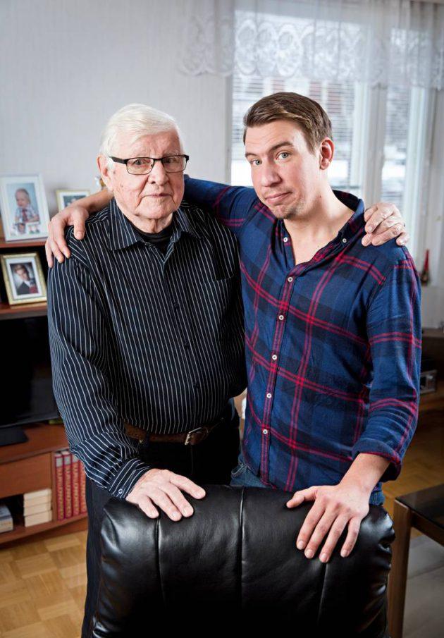 Heikki Airisto ja Aku Hirviniemi