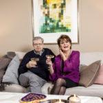 Göran Stubb, 82, muutti Pirkko Mannolan, 78, asuntoon syksyllä 2016 vajaan vuoden seurustelun jälkeen. Joulun Seurassa he kertovat arjestaan.