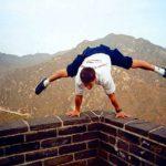 Tianjinin MM-kisareissulla vuonna 1999 Jari Mönkkönen kävi tutustumassa Kiinan muuriin. Noista kisoista menestystä ei tullut, mutta Kiinan muuri oli elämys. 