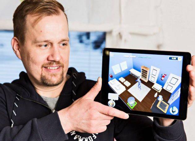 Jussi Rautio haluaa opettaa lapsille esimerkiksi paloturvallisuutta ja ensiavun perusteita kehittämänsä tietokonepelin avulla.