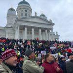 Mielenosoitus aktiivimallia vastaan 2.2.2018.