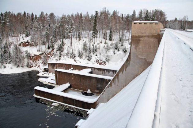 Pyhäkosken vesivoimalaitos Muhoksella