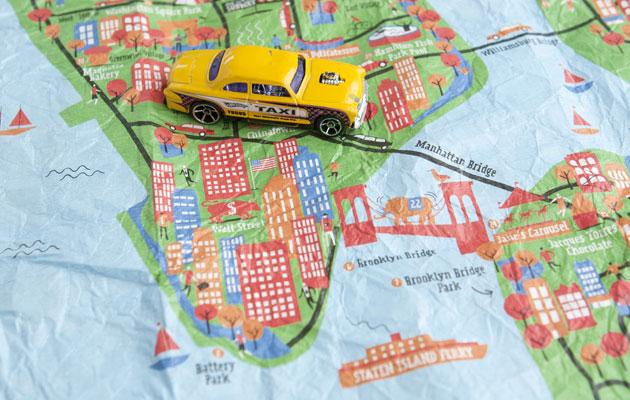 NewYork on mainio kaupunki vierailla.