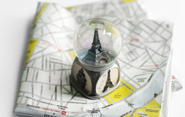 Pariisi on kaunis eurooppalaiskaupunki.