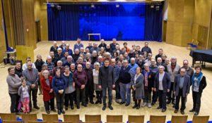 Liminkalaiset juhlistivat pitäjänsä 100-vuotiasta rauhansopimusta osallistumalla paikallishistoriaa käsittelevään esitelmätilaisuuteen tammikuun 2018 lopussa.