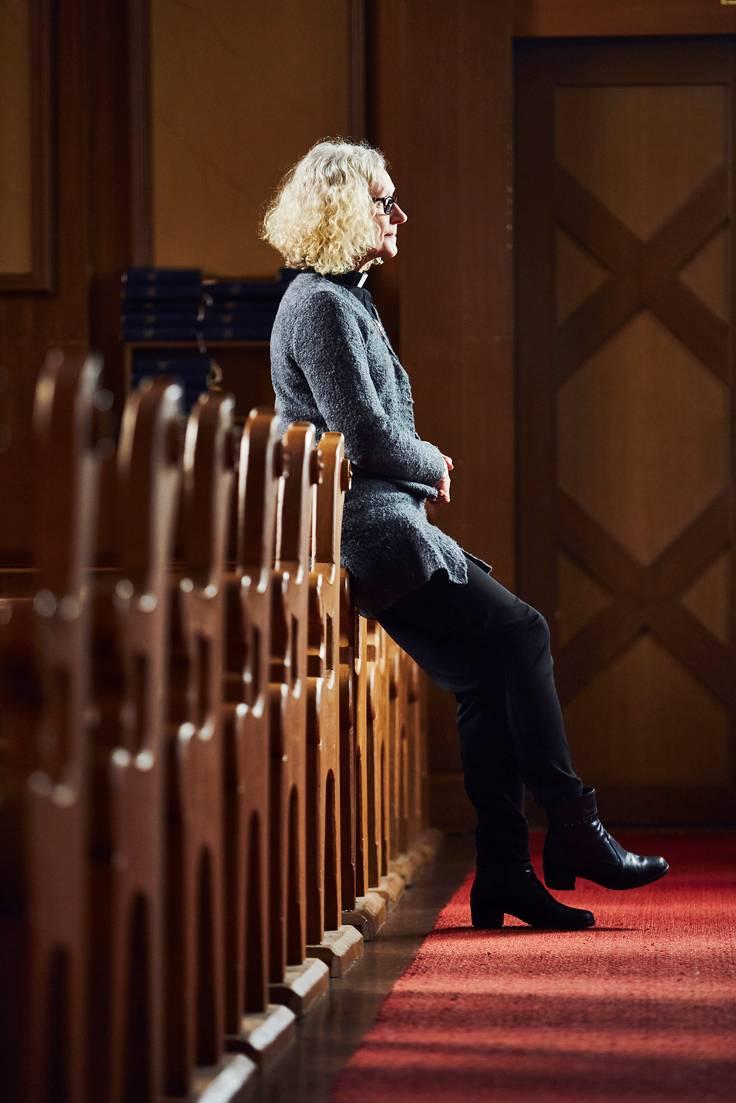 Auni Kaipia on kappalaisena Kangasalan seurakunnassa.