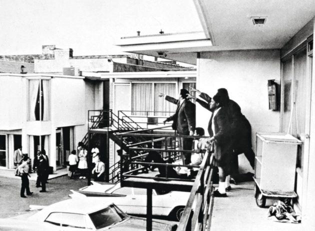 Martin Luther King murhattiin Lorraine-motellin parvekkeella.