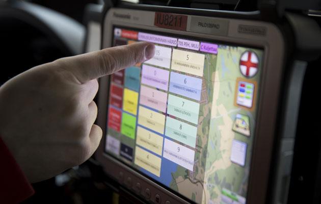 Ambulanssin on osattava nopeasti perille, kun hätätilanne on päällä.