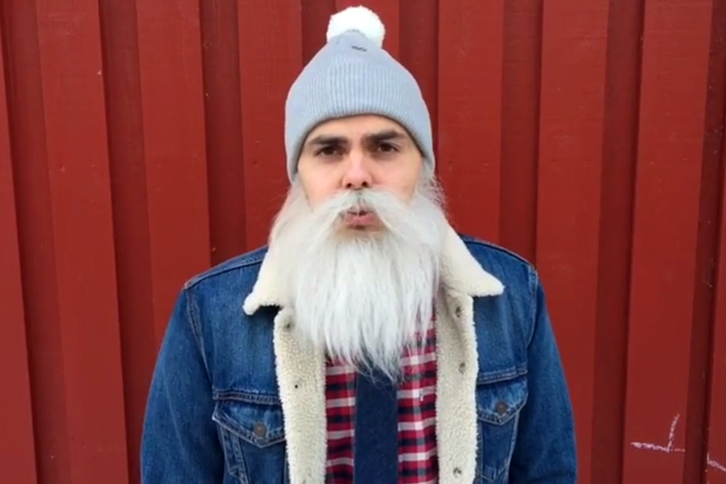 Brother Christmas on Ari Koposen luoma hyväntekeväisyyshahmo. Kuvakaappaus Mesenaatti-videosta.