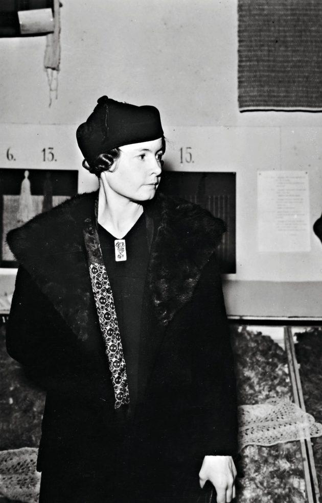 Sally Salminen 1930-luvun alussa New Yorkissa.