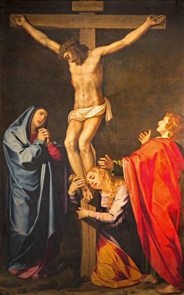 Ristiinnaulittu Jeesus
