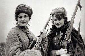 Neuvostoarmeijan tarkka-ampujia toisessa maailmansodassa.