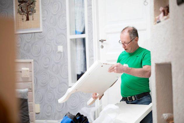 Nikkarointi ja remontointi ovat toimineet Risto Savolaisen terapiana.
