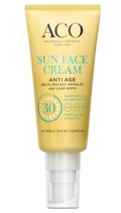 Aco sun face cream