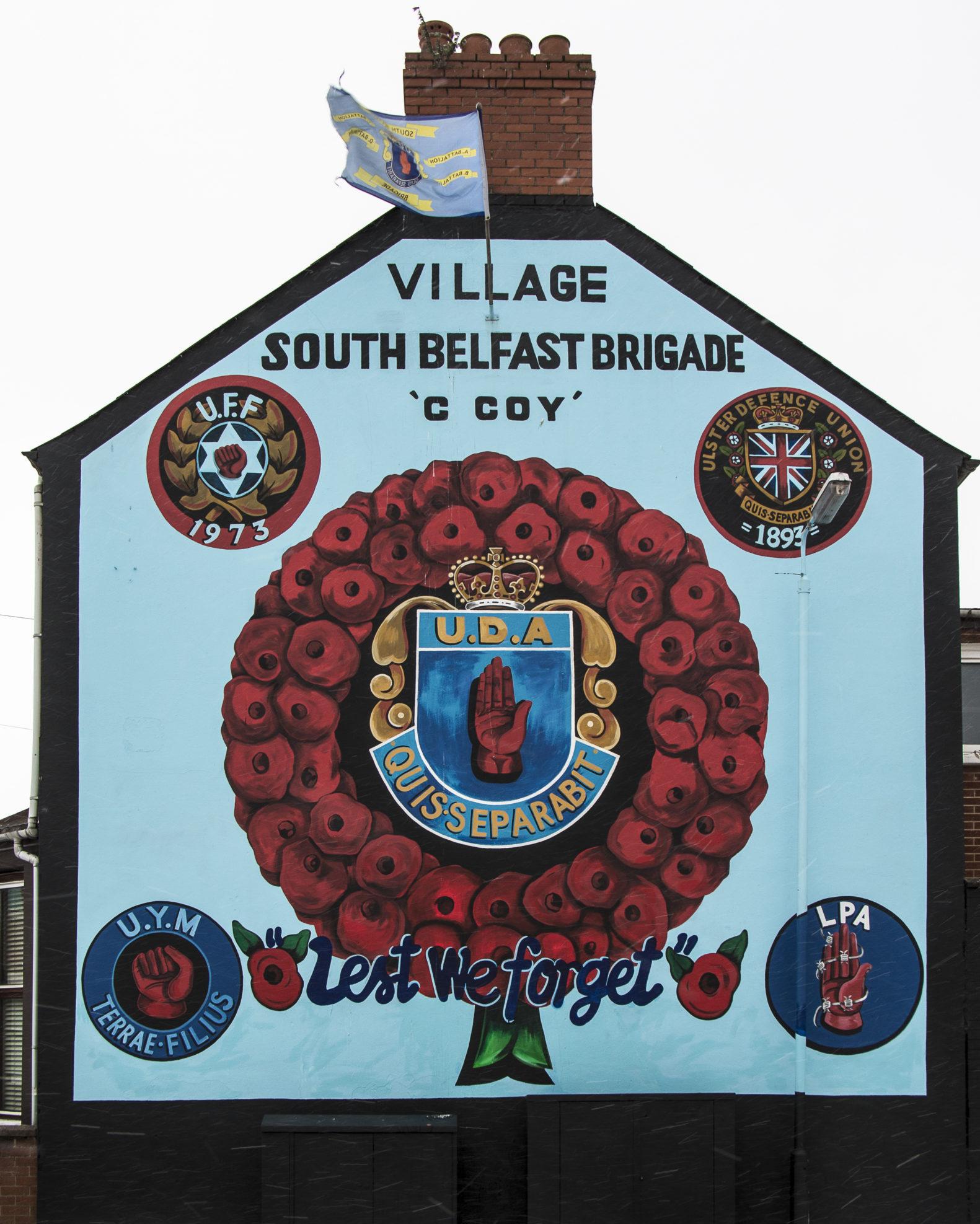 UDA eli Ulster Defence Association oli yksi lojalistien puolisotilaallisista jengeistä, joka taisteli 1969-1998 Irlannin tasavaltalaisarmeijaa vastaan.