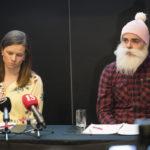 RSM Finlandin varatoimitusjohtaja Tytti Saarinen ja Ari Koponen pitivät Brother Christmas ry:n erityistarkastuksesta tiedotustilaisuuden Crowne Plaza -hotellissa Helsingissä 12. huhtikuuta 2018.