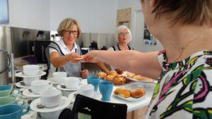 Suomalaisen seurakunnan ravintola toimii vapaaehtoisvoimin